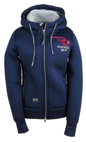 Ranchgirl Thermo Hooded Jacket Rachel Navy takki