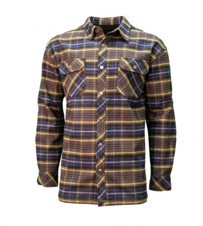 Key Men's Patriot Bonded Flannel Shirt flanellipaita