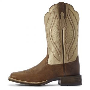 Ariat Women's PrimeTime Western Boot, Sassy Brown