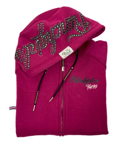 "Ranchgirl Hooded Jacket ""Shiloh"" baton rouge/grey huppari"