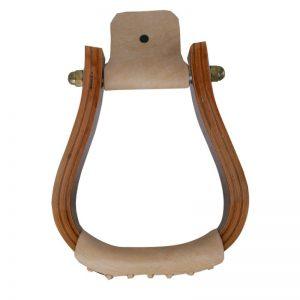 Jalustimet puuta Wooden Stirrups Visalia Walnut