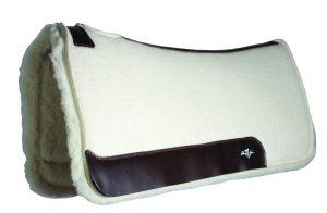 Professional's Choice Steam Pressed Comfort-Fit Fleece Saddle Pad