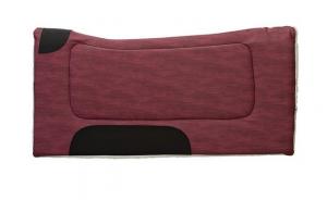 Weaver Contoured Microfiber Saddle Pad Fleece