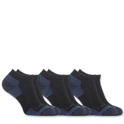 Sukat Carhartt Men's All Season Cotton Rich Sock 3-pair