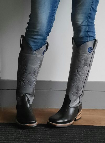 Bull's Eye Boots Extra high shaft, Gray