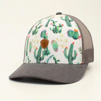 Cap Ariat Cactus, Ladies lippalakki