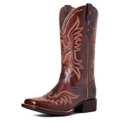 Ariat Women's Round Up Flutter Western Boot