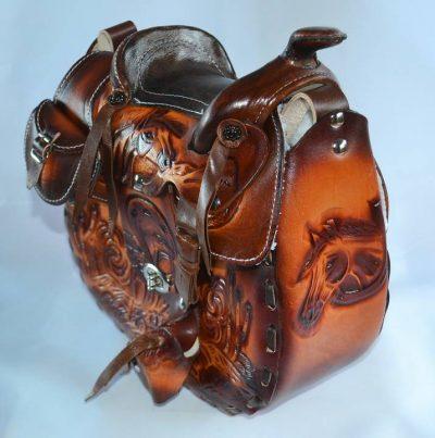 Laukku Western Saddle Bag