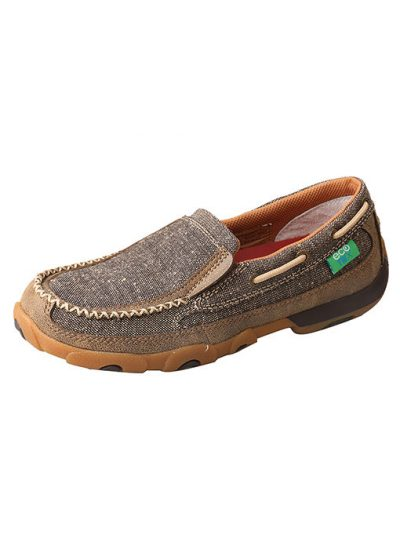 Twisted X Womens Slip-On Driving Moc Eco